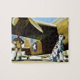 Army Dog Jigsaw Puzzle