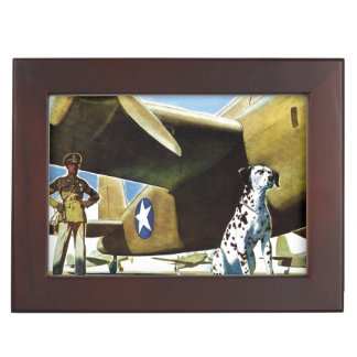Army Dog Memory Box