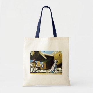 Army Dog Tote Bag