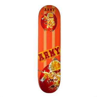 army eagle soldier cartoon style skate board decks