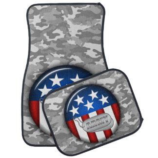 Army Emblem Camo Camouflage #1 Car Mat