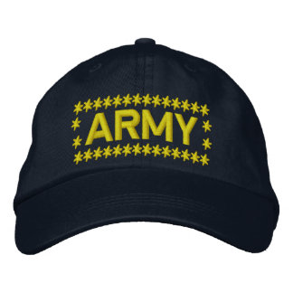 Army Embroidered Cap