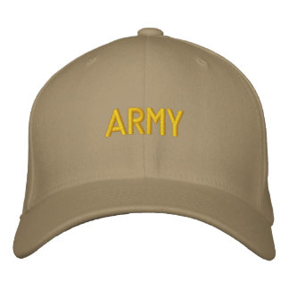 ARMY EMBROIDERED HAT