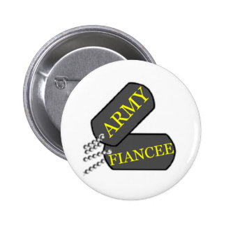 Army Fiancee 2 6 Cm Round Badge
