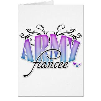 Army Fiancee Cards