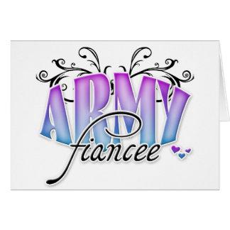Army Fiancee Greeting Card