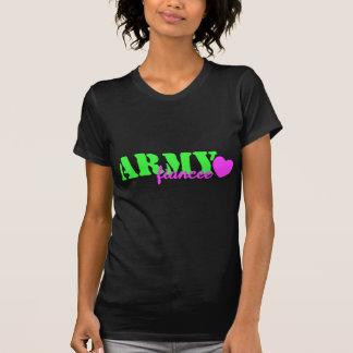Army Fiancee Lime Green Shirts