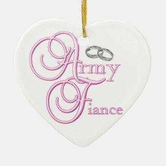 Army Fiancee Ornament