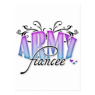 Army Fiancee Postcard