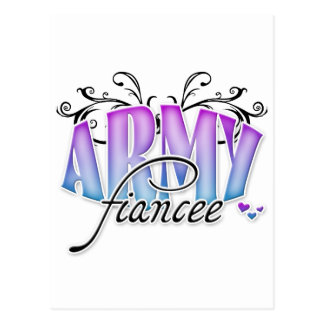 Army Fiancee Post Card