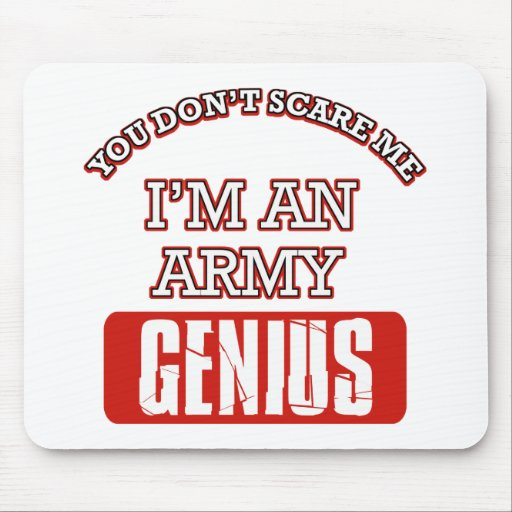 Army genius mouse pad