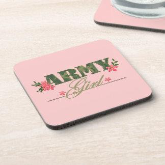 Army Girl Coaster