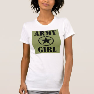 Army Girl Tee Shirt