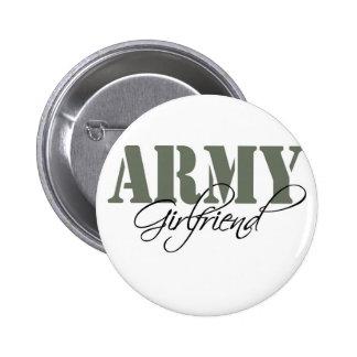 Army Girlfriend 6 Cm Round Badge