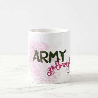 Army Girlfriend Basic White Mug
