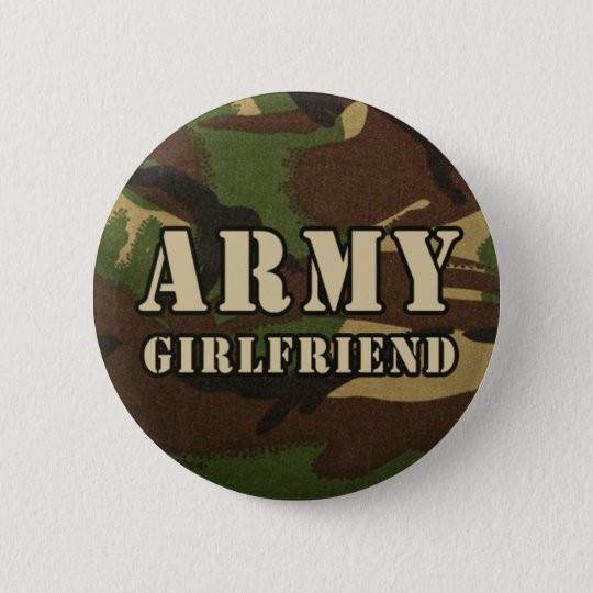 Army Girlfriend Button