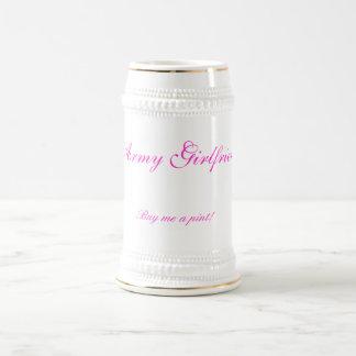 Army Girlfriend, Buy me a pint! Beer Steins