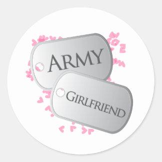 Army Girlfriend Dog Tags