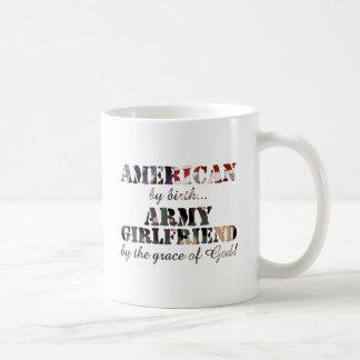 Army Girlfriend Grace of God Mugs