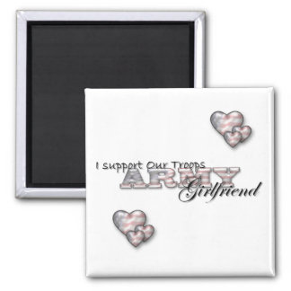 Army Girlfriend- Magnet