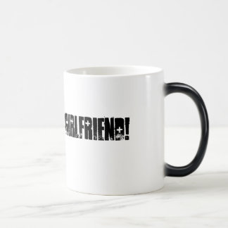 Army Girlfriend Morphing Mug