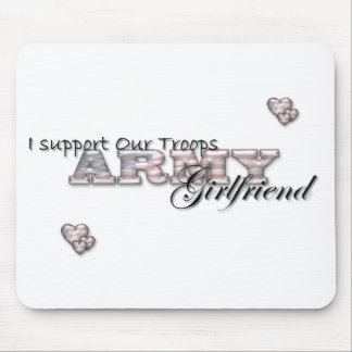 Army Girlfriend-Mousepad Mouse Pad