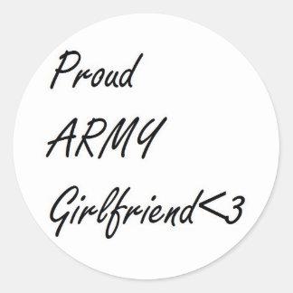 Army Girlfriend Stickers