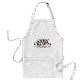 Army Grandpa Answering Call Standard Apron