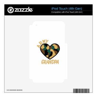 Army Grandpa iPod Touch 4G Skin