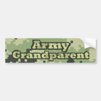 Army Grandparent Bumper Sticker