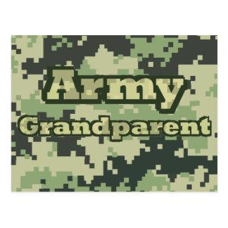 Army Grandparent Postcard