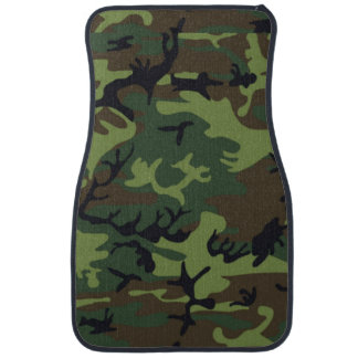 Army Green Camo Car Mat