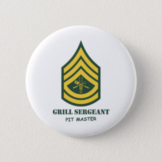 Army Grill Sergeant 6 Cm Round Badge
