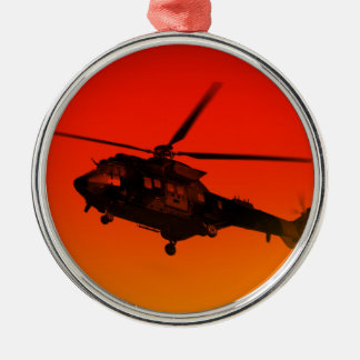Army Helicoptor Christmas Ornament