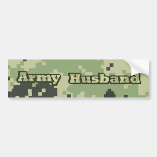 Army Husband Bumper Sticker