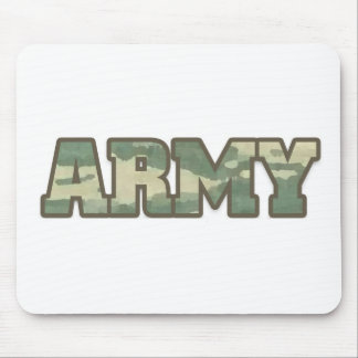 Army in camo mouse pad