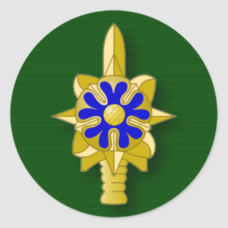Army Intelligence Service insignia Round Sticker