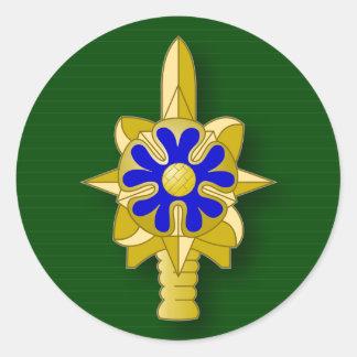 Army Intelligence Service insignia Round Sticker