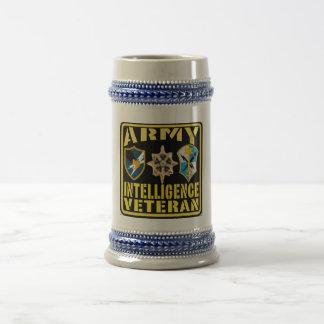 Army Intelligence Veteran Bier Stein