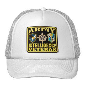 Army Intelligence Veteran Cap