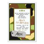 Army Invitations, MilitaryInvitations, Camouflage