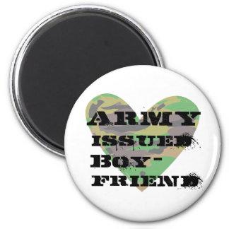 Army Issued Boyfriend 6 Cm Round Magnet