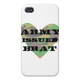 Army Issued Brat iPhone 4/4S Cases