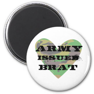 Army Issued Brat Fridge Magnets