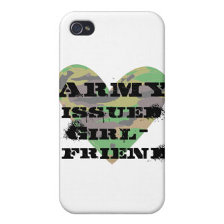 Army Issued Girlfriend iPhone 4 Cover