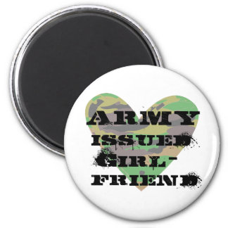 Army Issued Girlfriend Magnets