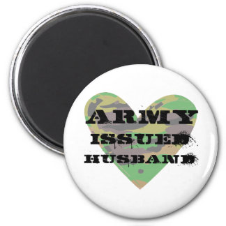 Army Issued Husband Fridge Magnets