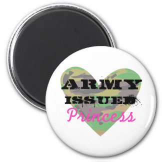 Army Issued Princess Refrigerator Magnet