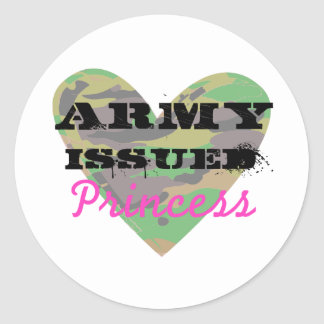 Army Issued Princess Stickers