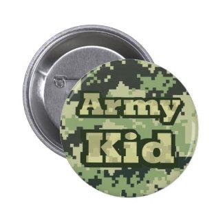Army Kid 6 Cm Round Badge